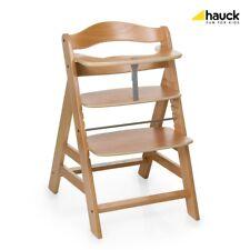 Hauck - Holzhochstuhl Alpha Plus, Natur