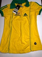 Adidas South Africa National Team Football Soccer Polo Shirt Large Women New