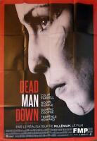 DEAD MAN DOWN - FARRELL / RAPACE - STYLE A ORIGINAL LARGE FRENCH MOVIE POSTER