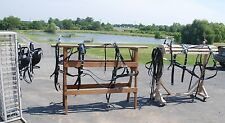 Amish made team beta biothane MULE WORK HARNESS  brand new complete