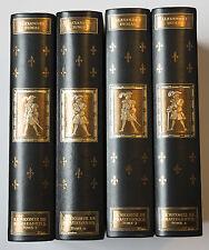 EDITION JEAN DE BONNOT ALEXANDRE DUMAS LE VICOMTE DE BRAGELONNE 4 TOMES NUMEROTÉ