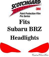 3M Scotchgard Paint Protection Film Pro Series Fits 2017 2018 2019 Subaru BRZ