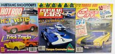 Lot Of 3 Hot Rod Popular Muscle Magazine 1986 1987  Christmas Guide 'vettes