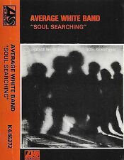 AVERAGE WHITE BAND SOUL SEARCHING K4 50272 CASSETTE AWB ATLANTIC PAPER LABELS