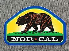 NOR CAL Park Ranger Sticker NORCAL Bear 4in si