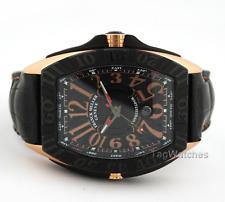 Franck Muller Conquistador Sport 18k Rose Gold PVD 9900 SC DT GPG