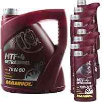 12 Liter Original MANNOL Getriebeöl MTF-4 Getriebeoel 75W-80 Gear Oil 11224314