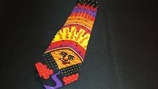 "Beatles necktie "" Good Day Sunshine  "" very good 1966  pre-owned very good"