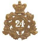 Внешний вид - British Victorian Era 24th of Foot Regiment Metal Helmet Plate