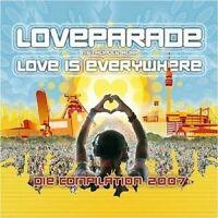 LOVEPARADE 2007 2 CD+DVD MIT IDA CORR UVM. NEU