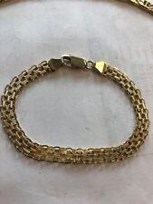 """14 Kt ,7"""" Bismark Bracelet"""