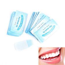 20pcs finger brush ups oral brush teeth whitening wipe deep cleaning oral careQA