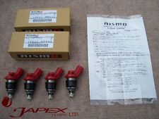 NISMO 740cc INJECTORS SR20 SET OF 4 S13 S14 S15 SILVIA 180SX WITH FREE SHIPPING