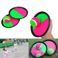Kids Sucker Sticky Ball Toy Outdoor Sports Catch Ball Game Set Throw And Cat YK