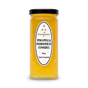 Terra Australis Pineapple and Passionfruit Conserve 300g