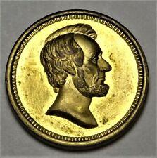 1865 Abraham Lincoln Born & Assassinated Paquet US Mint Medal Bronze J-PR-36