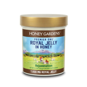 Premier Royal Jelly in Honey 7000, Honey, Honey (Jar)   5.5oz