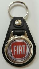 Fiat Logo Medallion Keyring, Brand New
