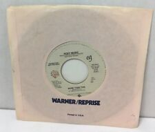 """Roxy Music - More Than This / Same 45 rpm 7"""" Record Promo PRO-S-1067 Warner VG+"""