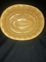 Antique Yellowware Food Mold Corn Design Jelly Pudding