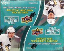 2011-12 Upper Deck Series 2 NHL hockey cards 24 Pack Retail box