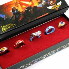 DOTA 2 Cospaly Rings 5PCS Rings Set in Box Game Accessory Collection Gift