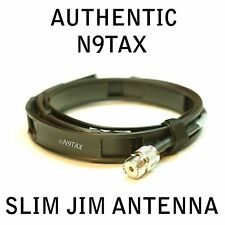 Authentic N9TAX VHF Slim Jim J-Pole 2 Meter Antenna roll up jpole!!