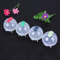 Round Ice Balls Maker Tray For Large Sphere Molds Cube Whiskey 6X5.5cm