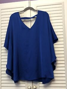 Blue Top Size 24 From M&S