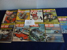 Hot Rod Magazine (1963 ) group of 9- Missing June-November-December