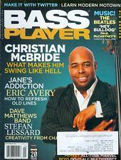 2009 Bass Player Magazine: Christian McBride/Eric Avery/Stefan Lessard