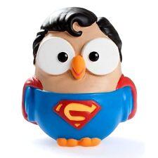 Supergoof Superman serie Goofi, Gufo in Ceramica EGAN Made in Italy 7 x 8 cm
