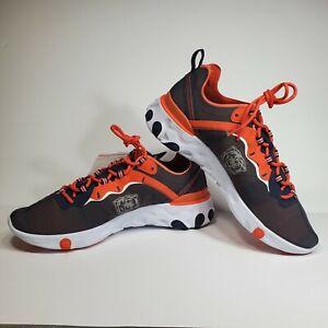 Nike React Element NFL Chicago Bears Running Shoes Men's 12.5 CK4800-400