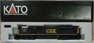 HO Gauge Kato USA 37-6348 EMD SD80MAC CSX Dark Future #4594 BNIB