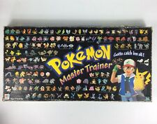 1999 POKEMON Master Trainer Board Game Incomplete Set Hasbro Milton Bradley