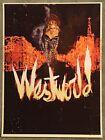Westworld HBO Tv Series Movie Fernando Reza Print Poster Mondo Michael Crichton