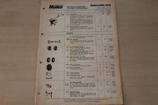 163297) Hako Hakorette 200 Hakoboy - Preise & Extras - Prospekt 10/1977