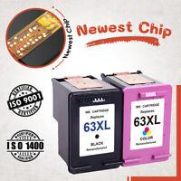 63XL Black & Color Ink Cartirdge for HP Officejet 5255 5258 ENVY 4510 4511 4512