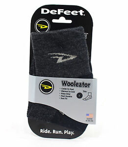 Defeet Wooleator Socks, Charcoal, Large