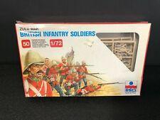 British Infantry Soldiers Zulu War 1983 50 Pieces 1/72 Scale