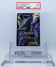 Pokemon Next Destinies KYUREM EX #96 Full Art Ultra Holo Rare Card PSA 9 MINT #*