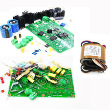 NEW E834 RIAA MM Amplifier Kit Base + Power Supply Kit + Transformer