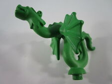 "PLAYMOBIL- ""ESPECTACULAR GRAN GARGOLA DRAGON VERDE IDEAL CASTILLOS ANTIG - LUJO!"