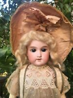 "RARE 16"" ALL ORIGINAL Antique Bébé Cosmopolite Bisque Doll Germany With BOX!"