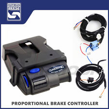 ELECTRIC TRAILER BRAKE CONTROLLER WITH WIRING KIT HARNESS CABLE HAYMAN REESE