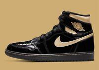 Nike Air Jordan 1 Retro High OG Black Metallic Gold 555088-032 Men's Size 10 🌓