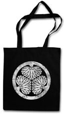 ? Tokugawa clan logotipo mon sustancia bolso shogunato Shogun Oda Nobunaga? Tokugawa