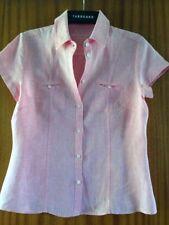 Sportscraft Cap Sleeve Button Down Shirt Machine Washable Tops & Blouses for Women