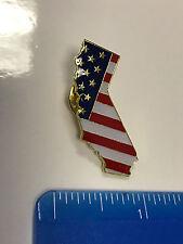 California State Lapel Pin CA US Flag American USA Patriot Politics