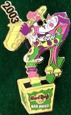 Hard Rock Cafe SAN DIEGO 2003 Mardi Gras PIN Jester Jack in the Box - HRC #16625
